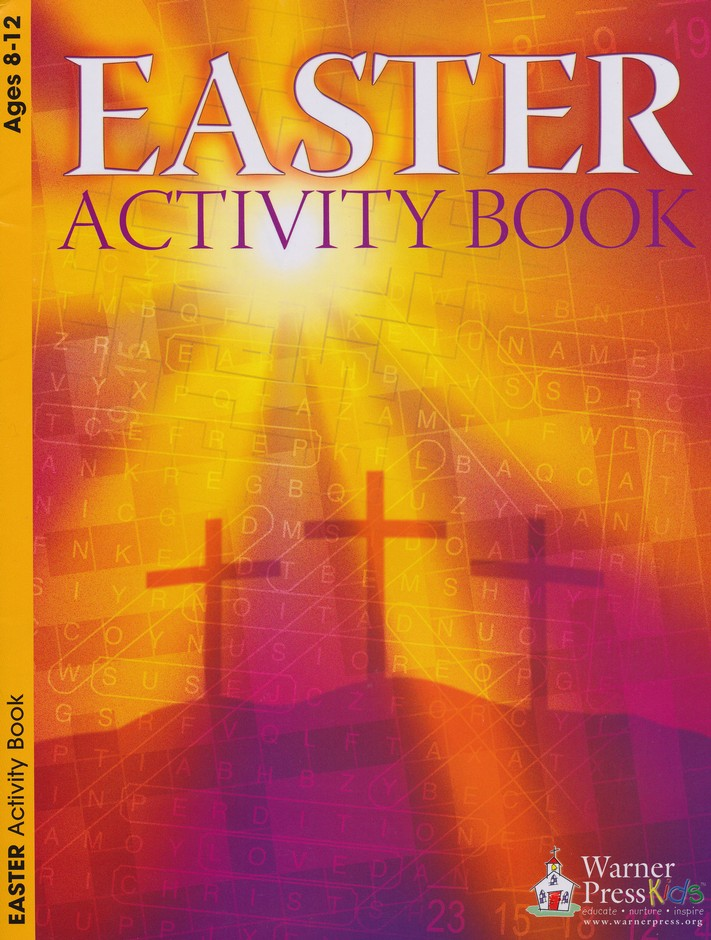 Easter Activity Book (ages 8 to 12)