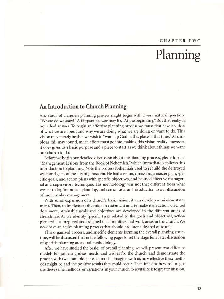 Church Administration and Finance Manual                 Resources for Leading the Local Church