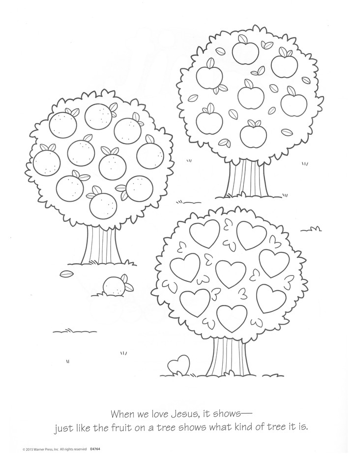 Fruit Of The Spirit Coloring Book, Ages 4-7: 9781593177669 -  Christianbook.com