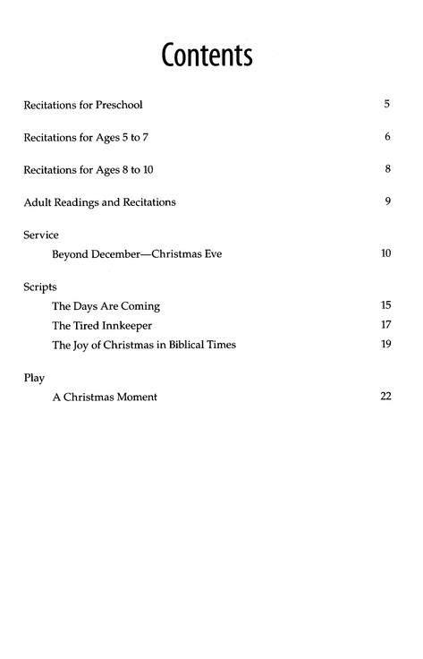 Christmas Program Builder No. 63, Book