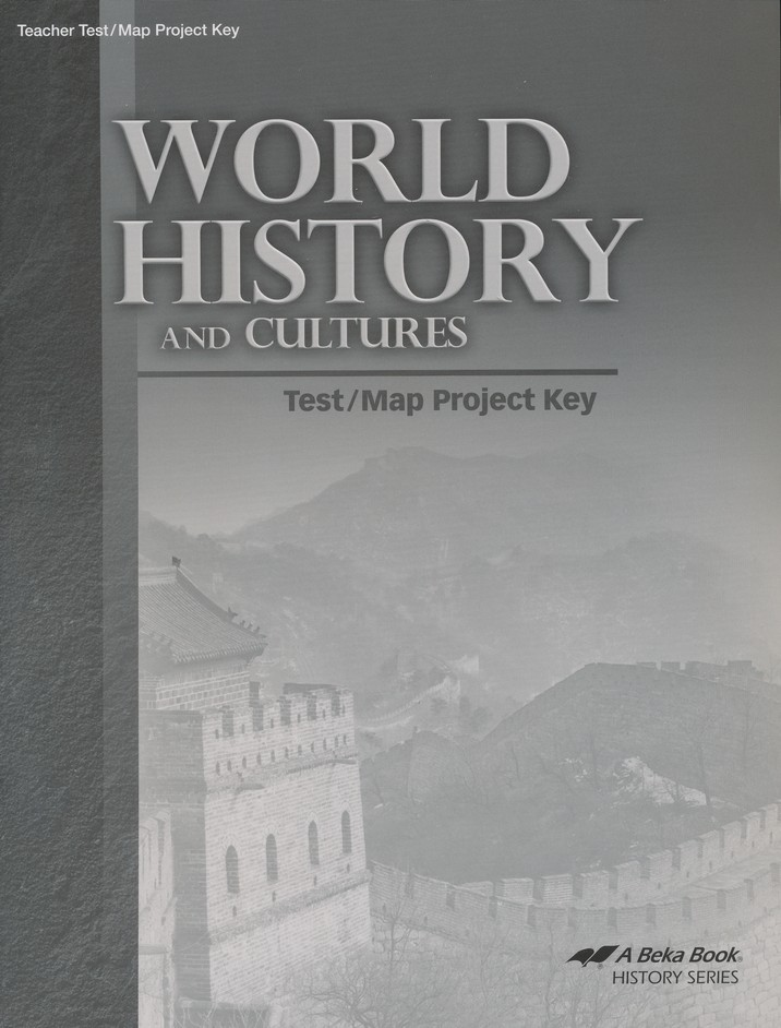 World History and Cultures Test/Map Project Key