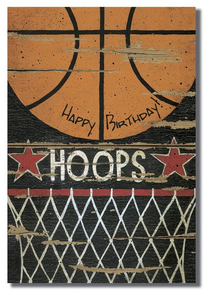 Sports Happy Birthday Cards, Box of 12