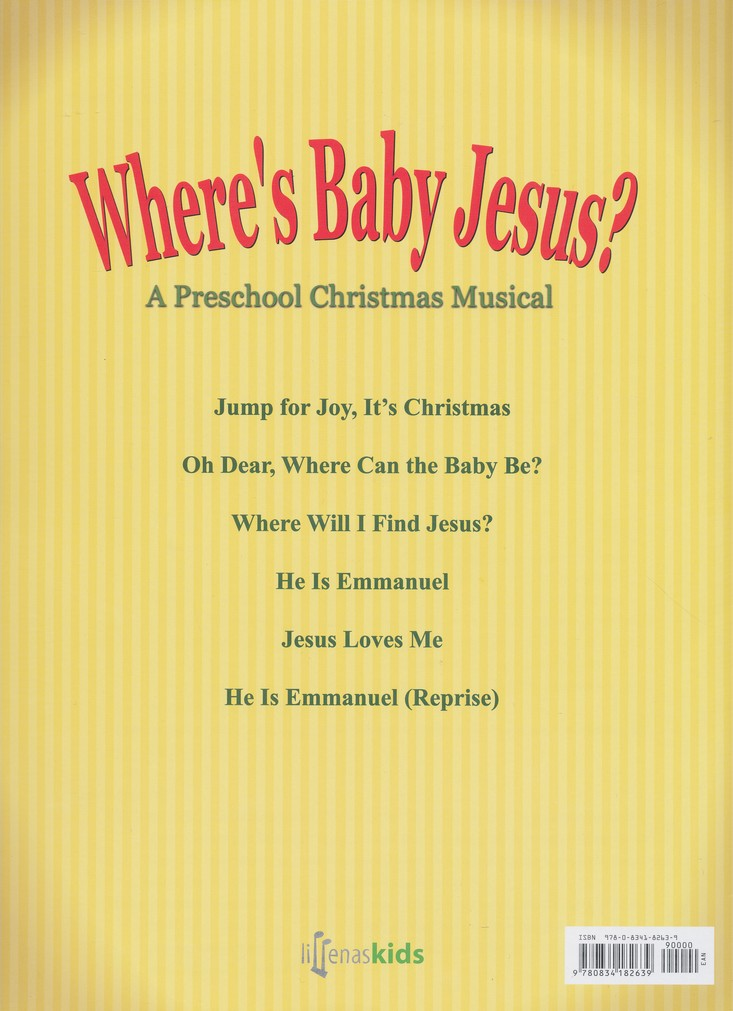 Where's Baby Jesus?-A Preschool Christmas Musical