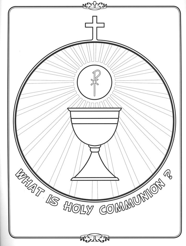 - Walking In Faith: What Is Holy Communion? Coloring Book: 9781939182678 -  Christianbook.com