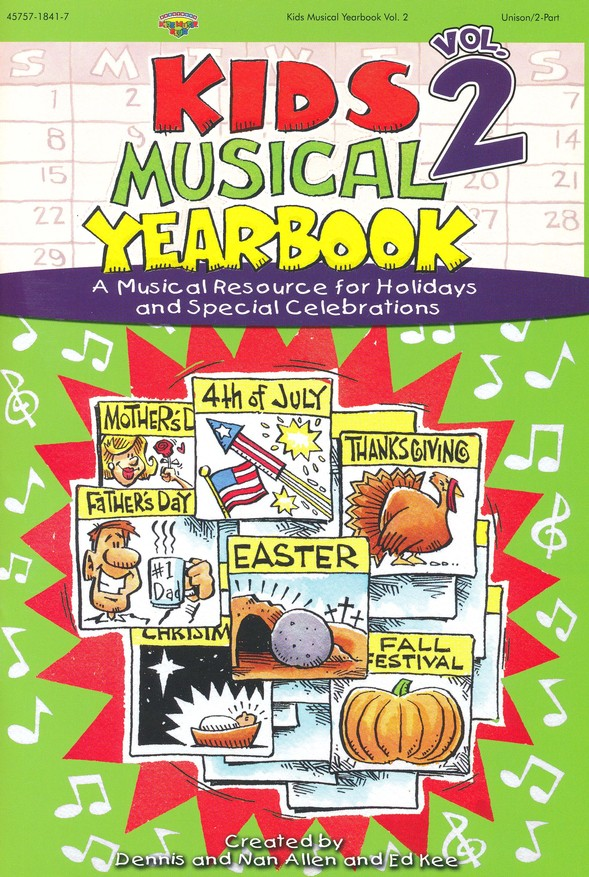 Kids Musical Yearbook, Volume 2