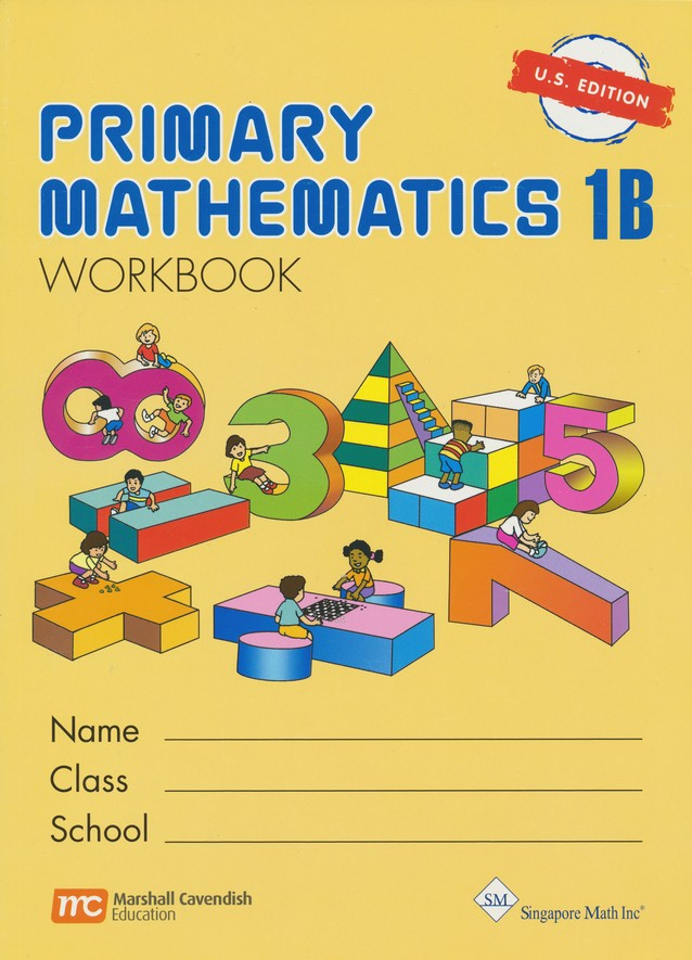 Singapore Math Primary Math Workbook 1b Us Edition 9789810184971