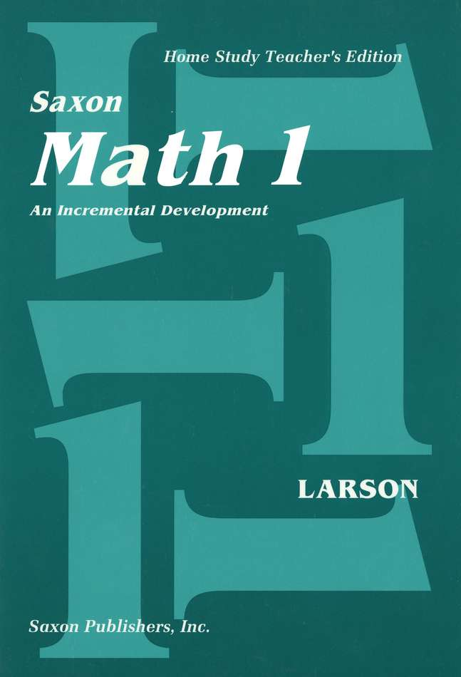 Saxon Math 1, Home Study Kit