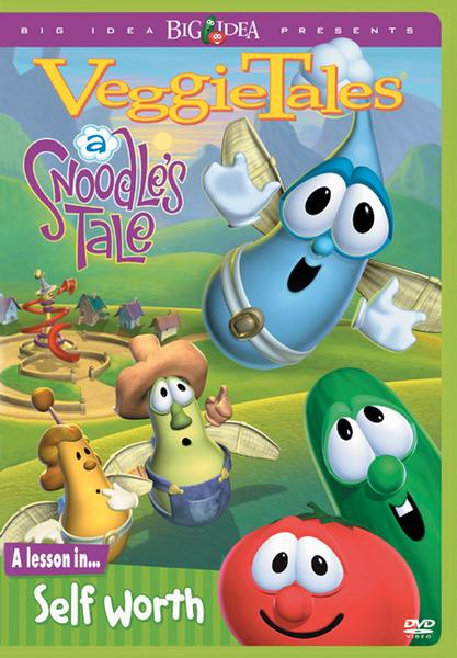 A Snoodle's Tale: A Lesson in Self-Worth, VeggieTales DVD
