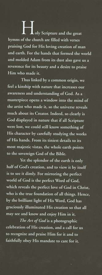 The Art of God: The Heavens and the Earth