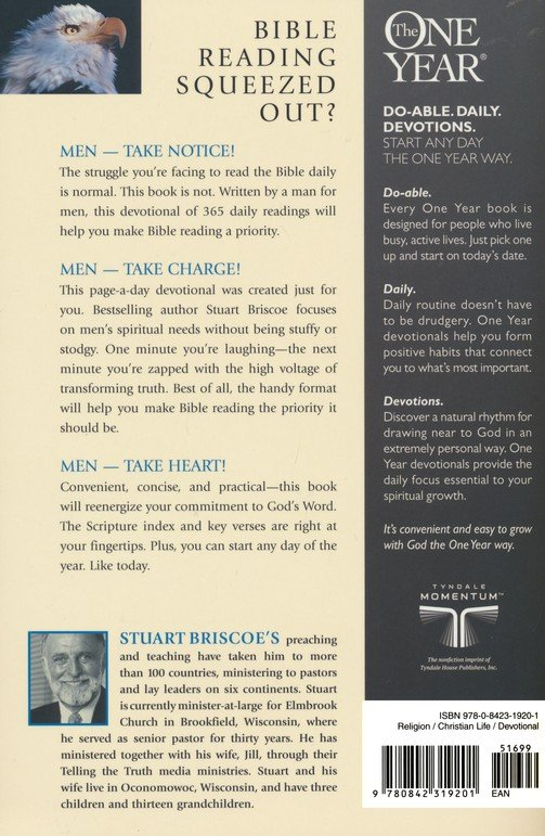 The One-Year Devotions for Men