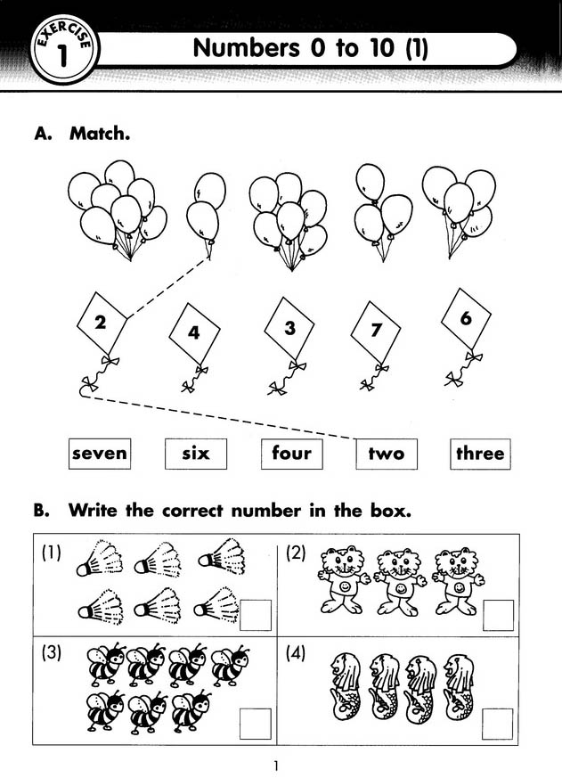 Singapore Math, Extra Practice for Primary Math U.S. Edition 1