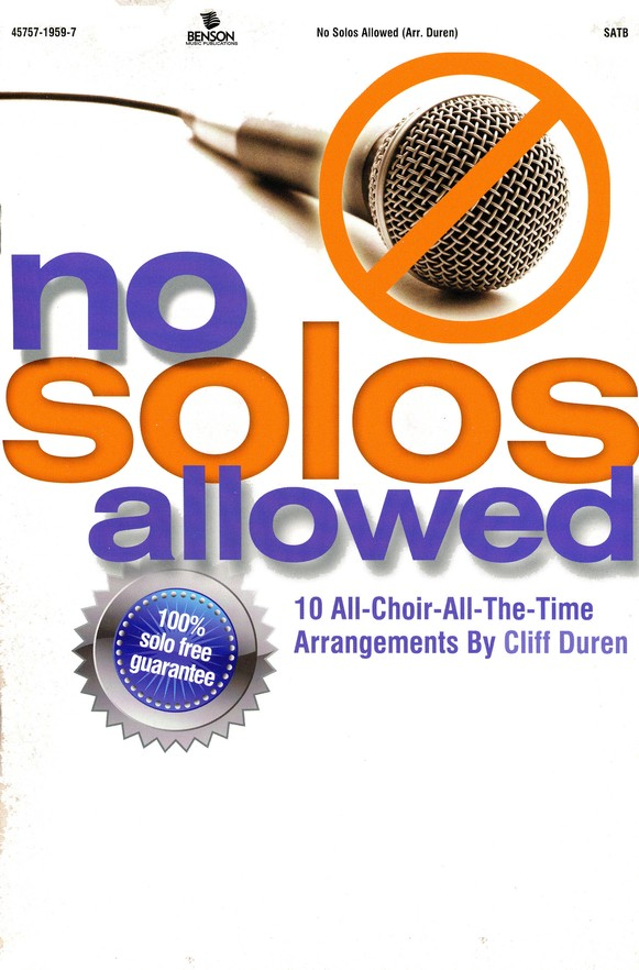 No Solos Allowed
