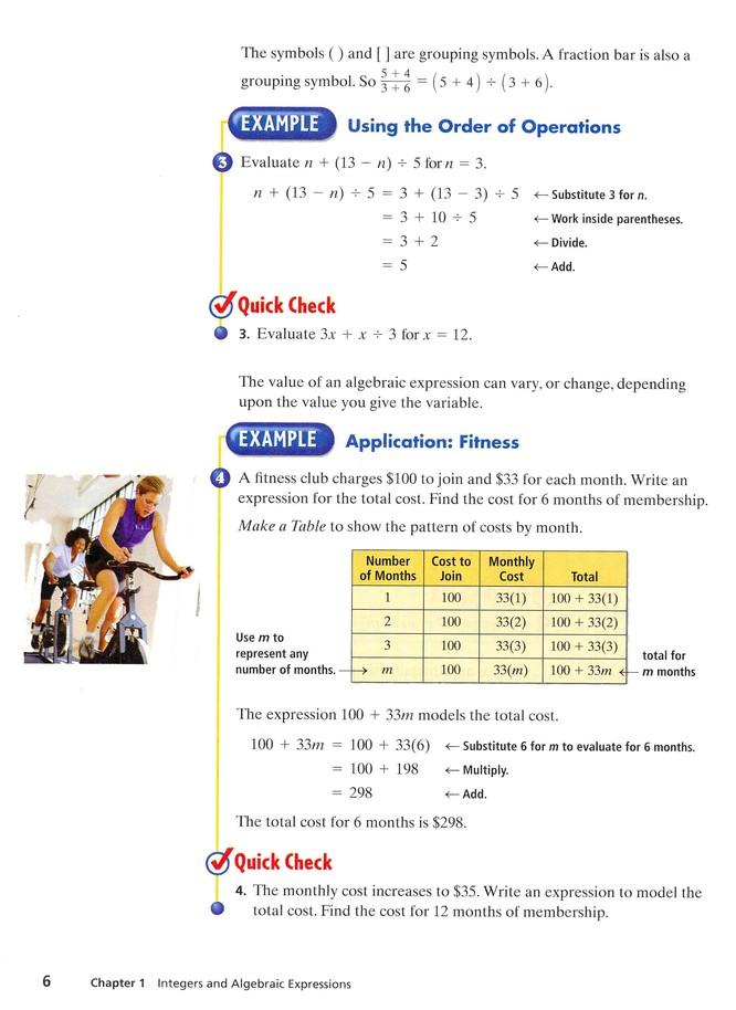 Prentice Hall Mathematics Course 3 Workbook Answers