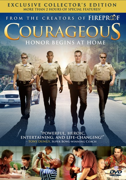 Courageous: Exclusive Collector's Edition, DVD