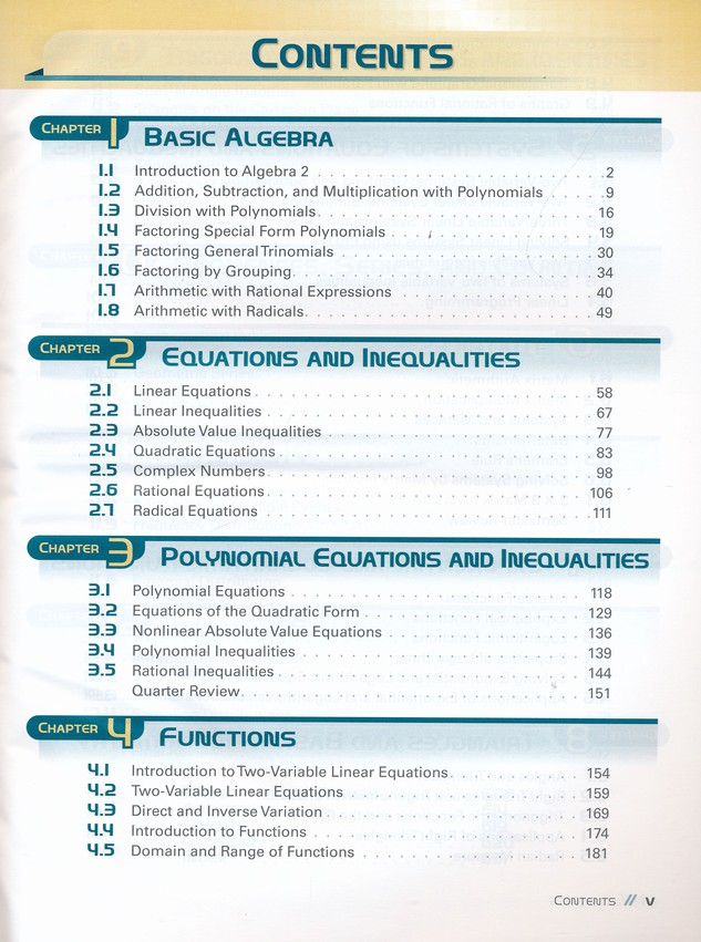 Abeka Algebra 2 Student Text, Grade 10 (2016 Version)