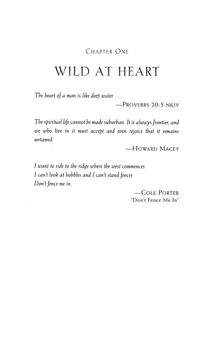 Wild at Heart: Discovering the Secret of a Man's Soul, Revised and Expanded (slightly imperfect)