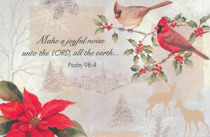 Make a Joyful Noise Christmas Cards, Box of 20  Make a Joyful Noise unto the Lord