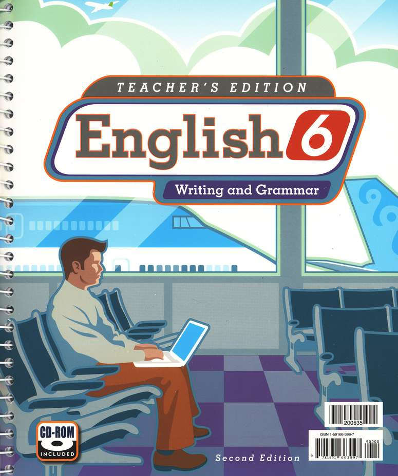 BJU English Grade 6 Teacher's Guide Second Edition