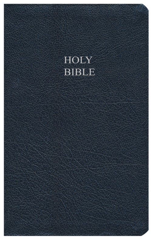 KJV Reference Bible Bonded leather, navy blue