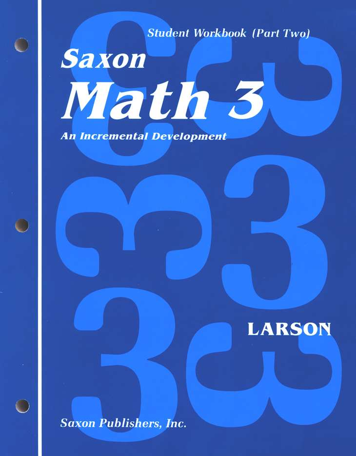 Saxon Math 3, Home Study Kit