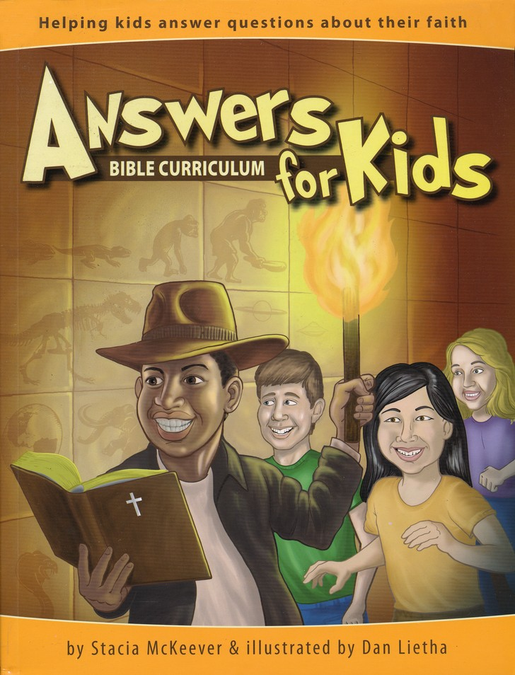 Answers for Kids, Bible Curriculum Set  (Teacher's Guide, Student Handouts & DVD-ROM)