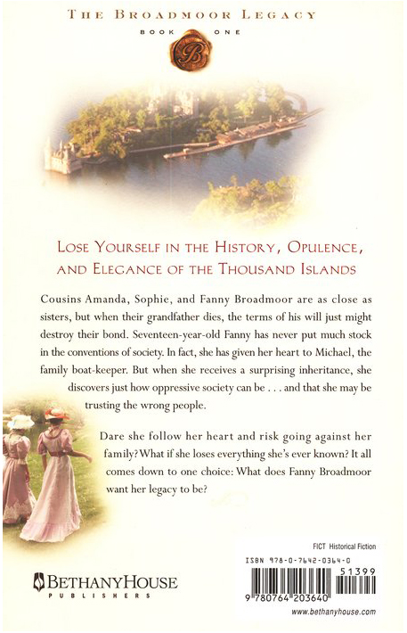 A Daughter's Inheritance, Broadmoor Legacy Series #1