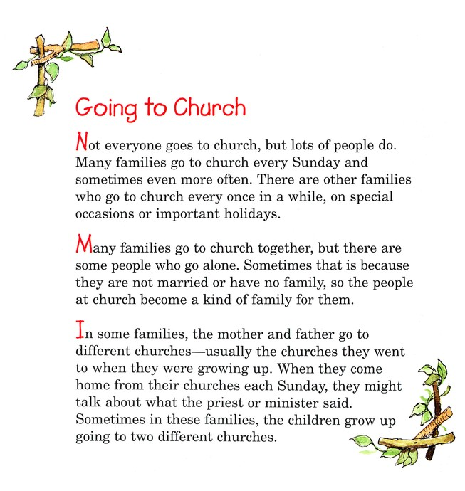 I Don't Want to Go to Church: Taming the Struggle  Into a Celebration, Elf Help Book