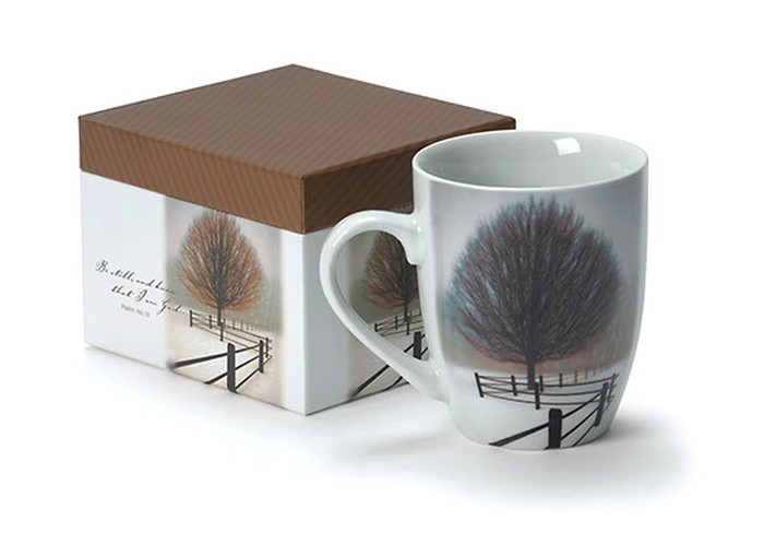 Be Still Boxed Mug