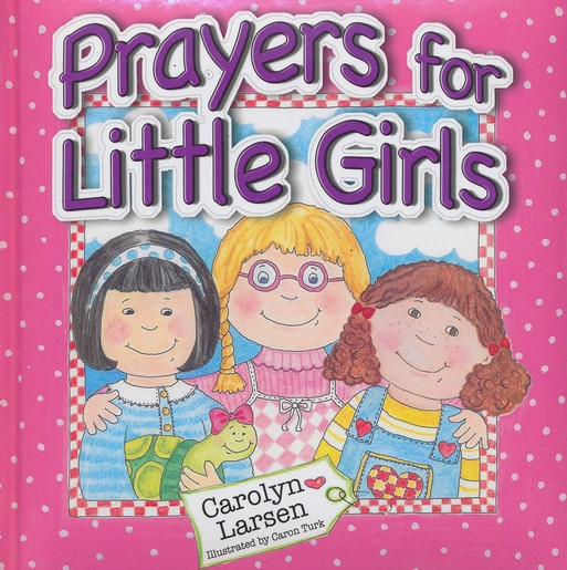 Prayers for Little Girls Book