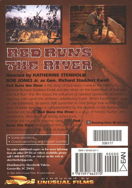Red Runs the River, DVD