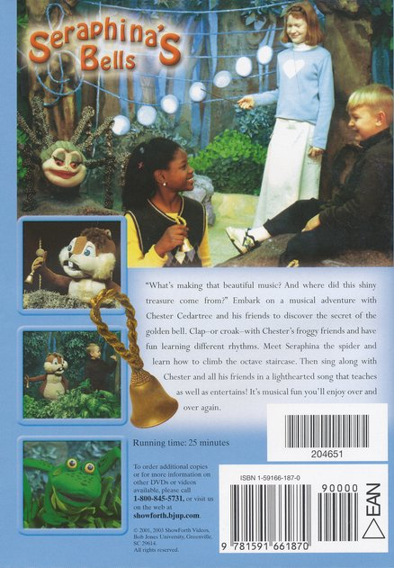 Serafina's Bells on DVD