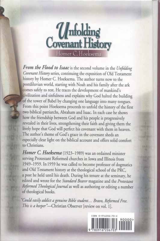 Unfolding Covenant History, Volume 2: From the Flood to Isaac