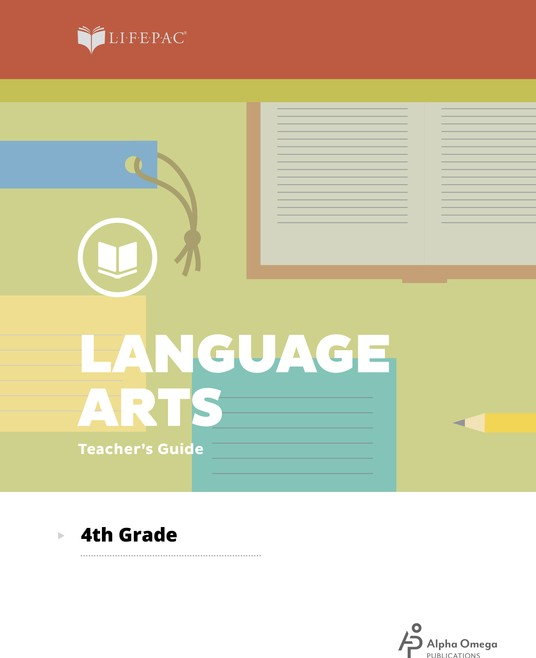 Lifepac Language Arts, Grade 4, Teacher's Guide