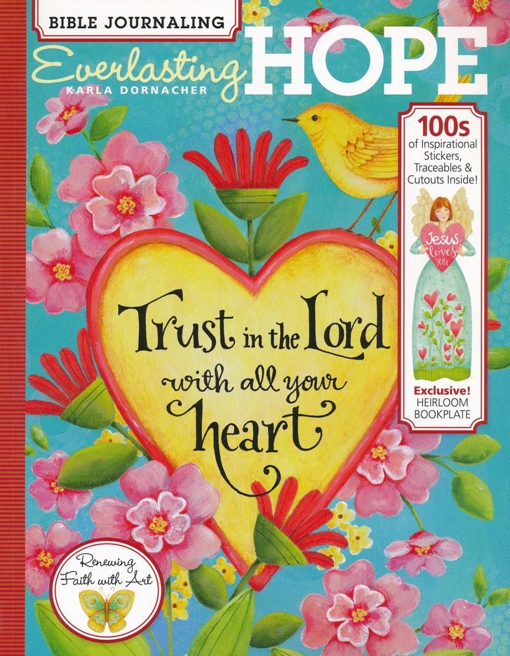 Bible Journaling Everlasting Hope Karla Dornacher 9781640210059 Christianbook Com
