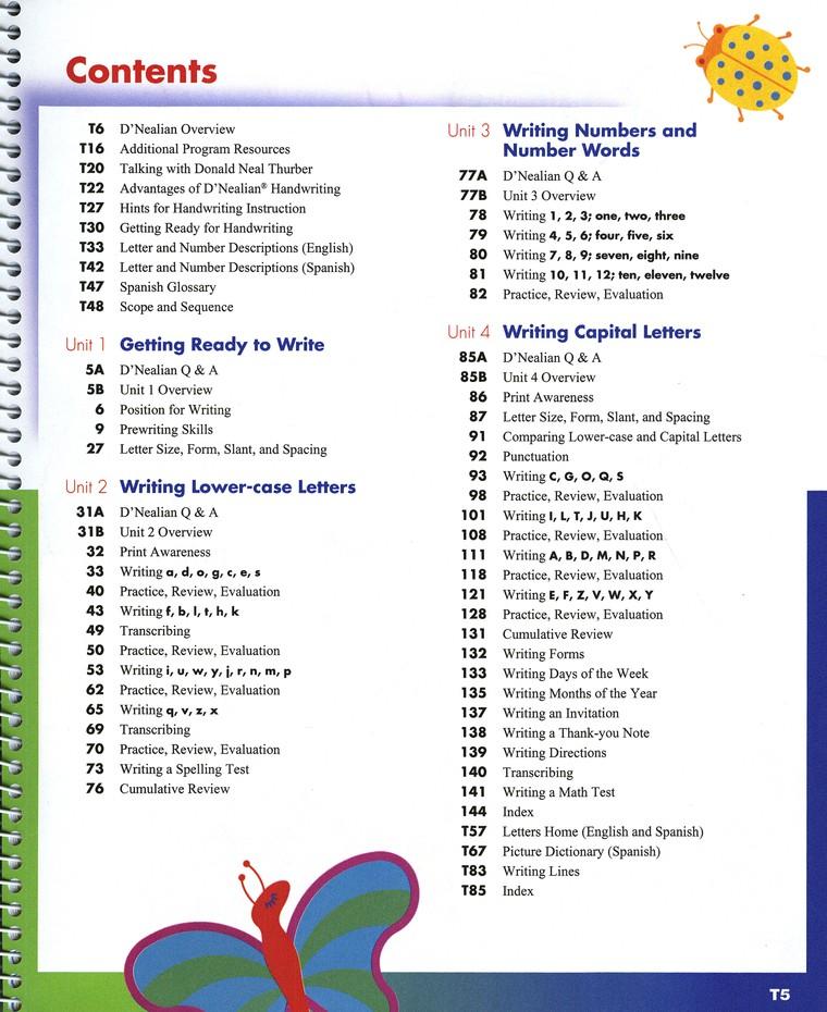 D'Nealian Handwriting Teacher Edition Grade 1 (2008 Edition)
