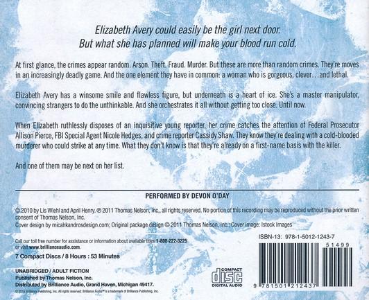 Heart of Ice - unabridged audio book on CD