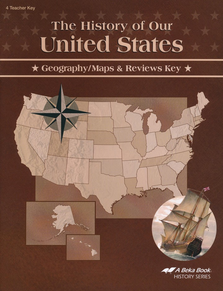 Abeka the history of our united states geographymaps reviews key abeka the history of our united states geographymaps reviews key christianbook gumiabroncs Choice Image