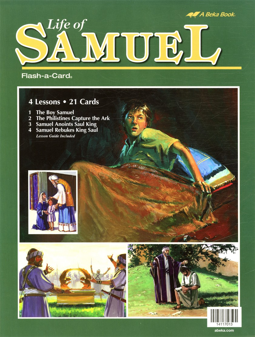 Abeka Life of Samuel Flash-a-Card Set