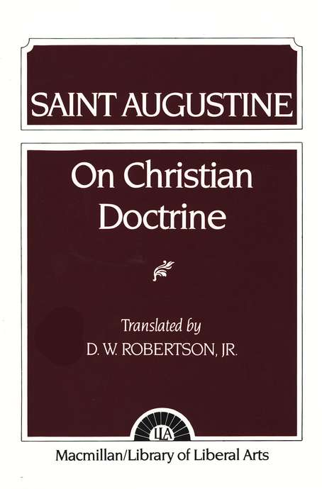 Augustine on Christian Doctrine