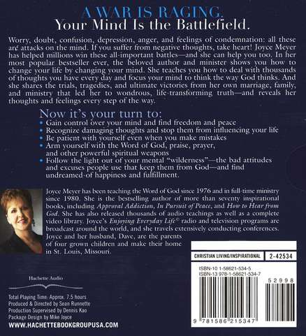 Battlefield of the Mind, Unabridged Audiobook on CD
