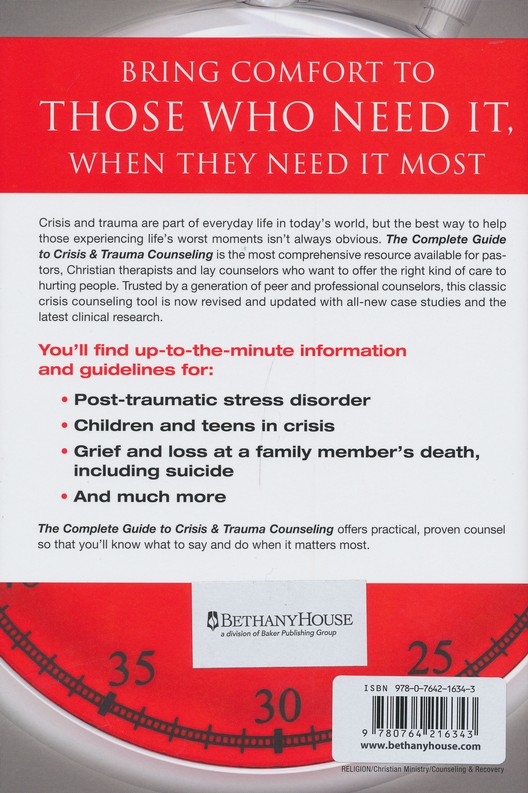 complete guide to crisis and trauma counseling what to do and say rh christianbook com PTSD Trauma Counseling Trauma Counseling Programs