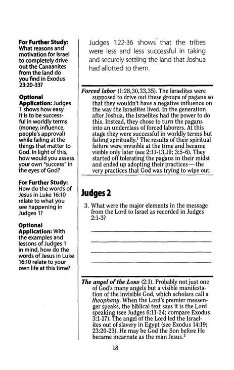 Judges, LifeChange Bible Study
