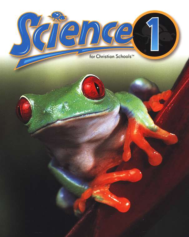 BJU Press Science Grade 1 Student Text, Updated Second Edition Softcover