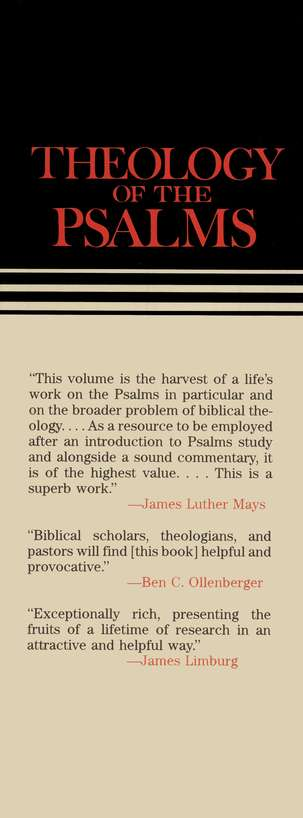 Theology of the Psalms, Continental Commentary Series