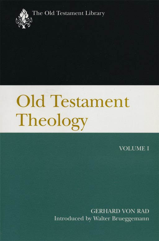 Old Testament Theology, Volume 1