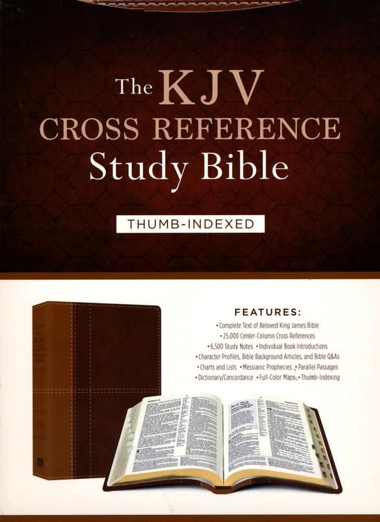 The KJV Cross Reference Study Bible - Imitation Leather