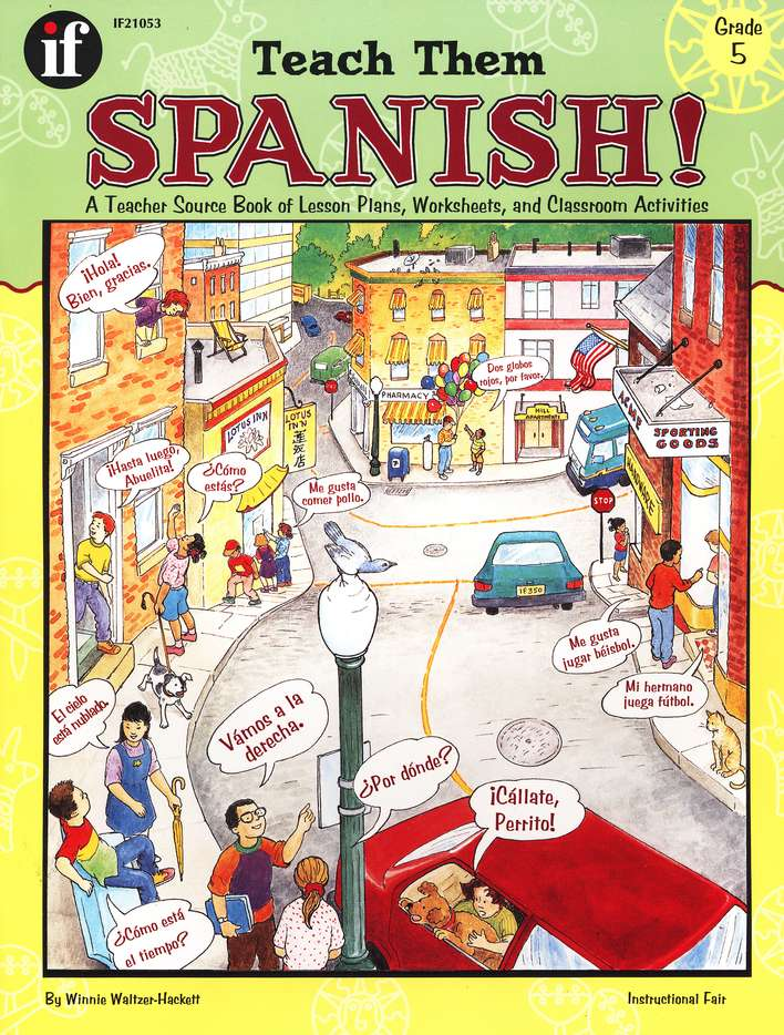 Teach Them Spanish! Grade 5