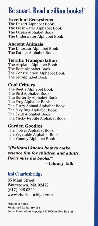 The Construction Alphabet Book Jerry Pallotta 9781570914379
