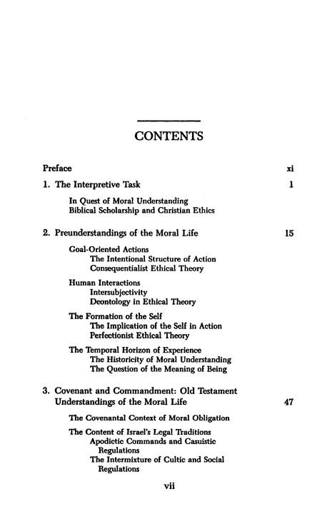 biblical code of ethics