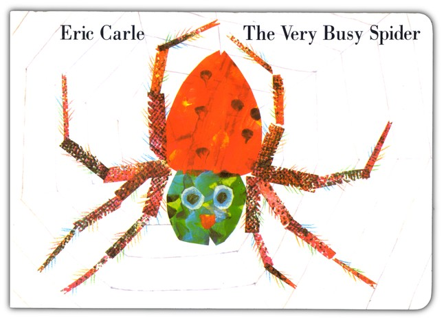 The Very Busy Spider, board book